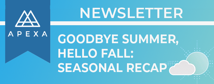 APEXA News Banner_Goodbye Summer 2019