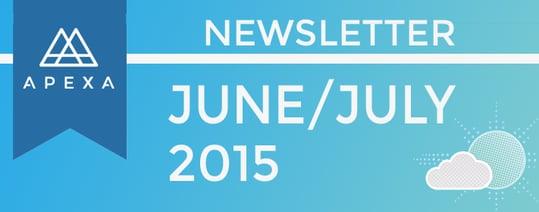APEXA Newsletter June July 2015
