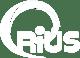 Crius logo - Inverted