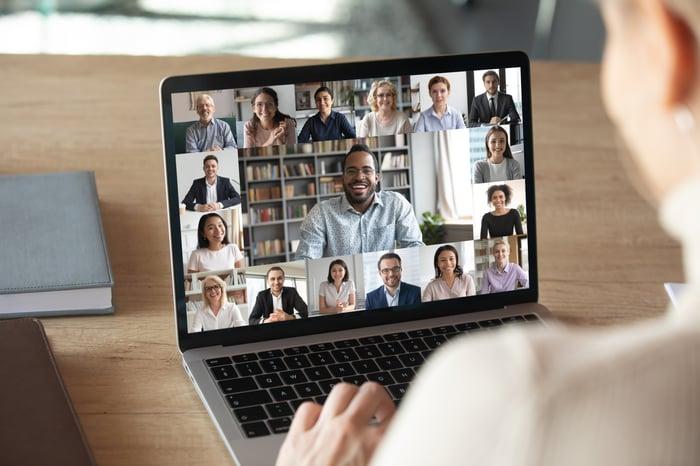 Virtual Meeting - Remote Work