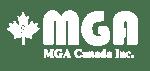 MGA Canada Inc logo-White
