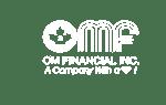 OM Financial logo-White